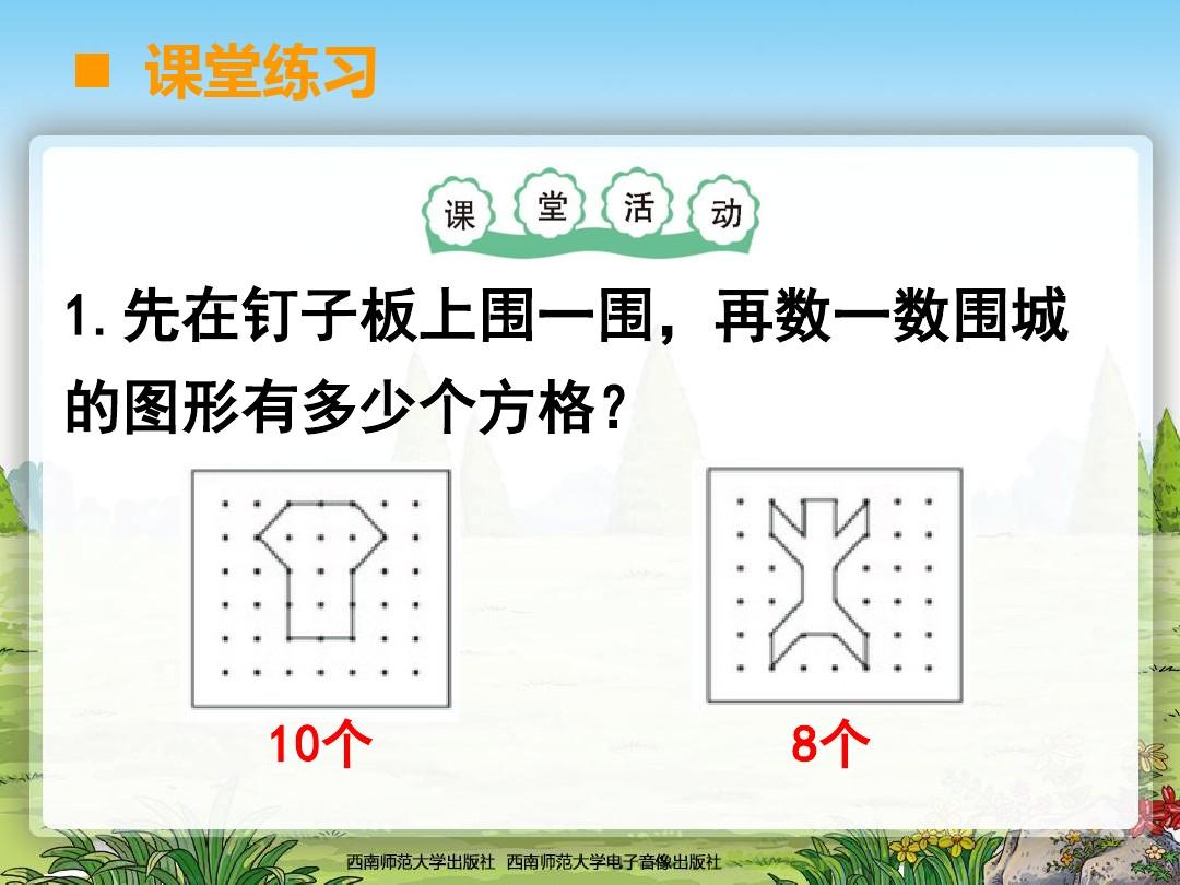 面积和面积单位优秀说课稿课件的第9张ppt图片预览