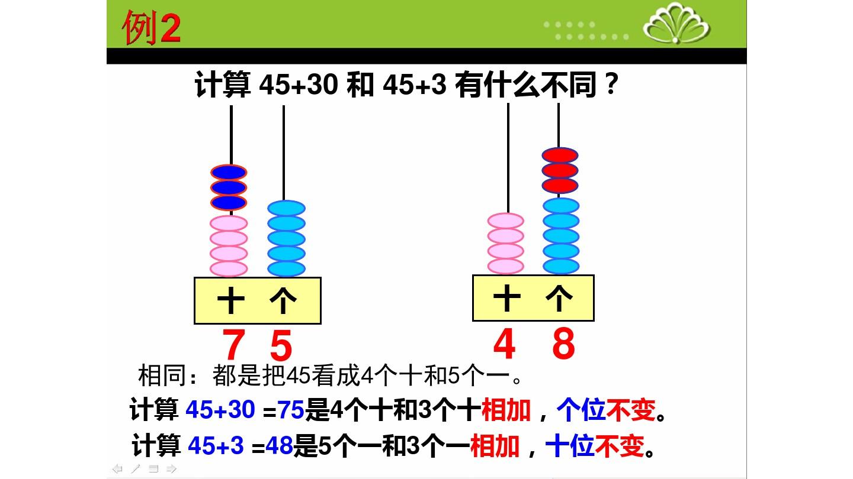 2.两位数加整十数�…PPT课件和第二课时教案的第17张ppt图片预览
