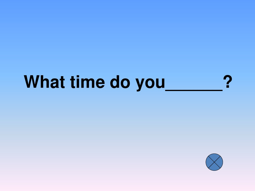 Unit 7 What time do you get up?公开课课件的第31张ppt图片预览