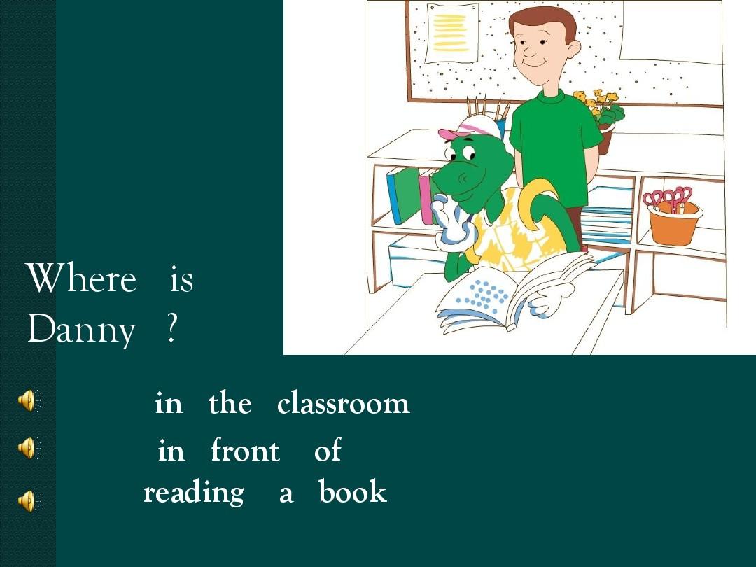 Lesson 5 Where Is Danny?…優秀說課稿課件的第8張ppt圖片預覽