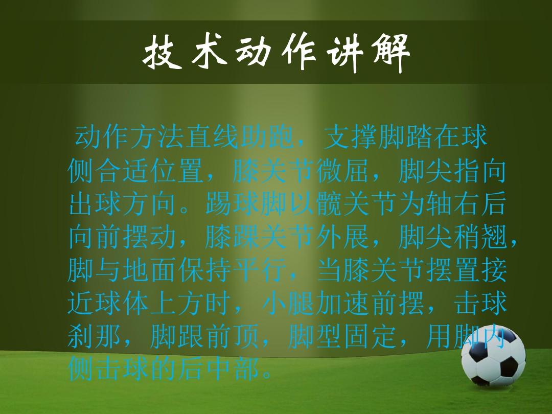 些微足球PPT和配套教案和课堂实录的程序3张ppt图预览