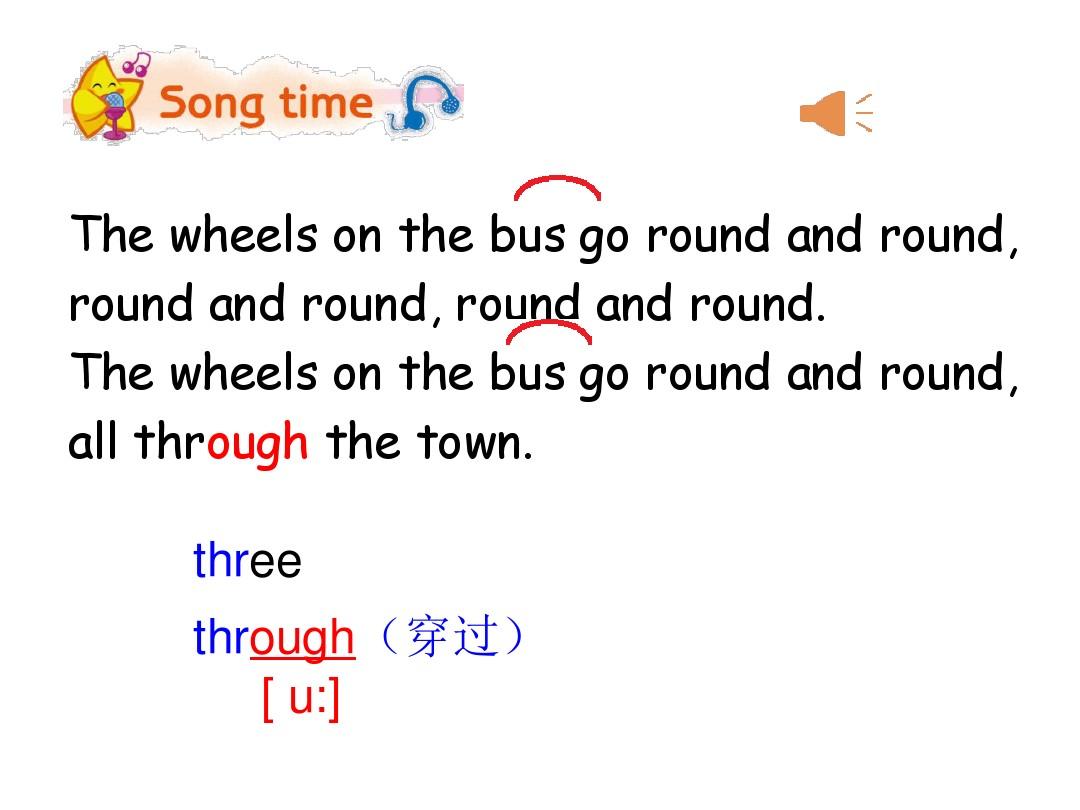 Sound time, Song time & …PPT课件和教学设计实例的第5张ppt图片预览