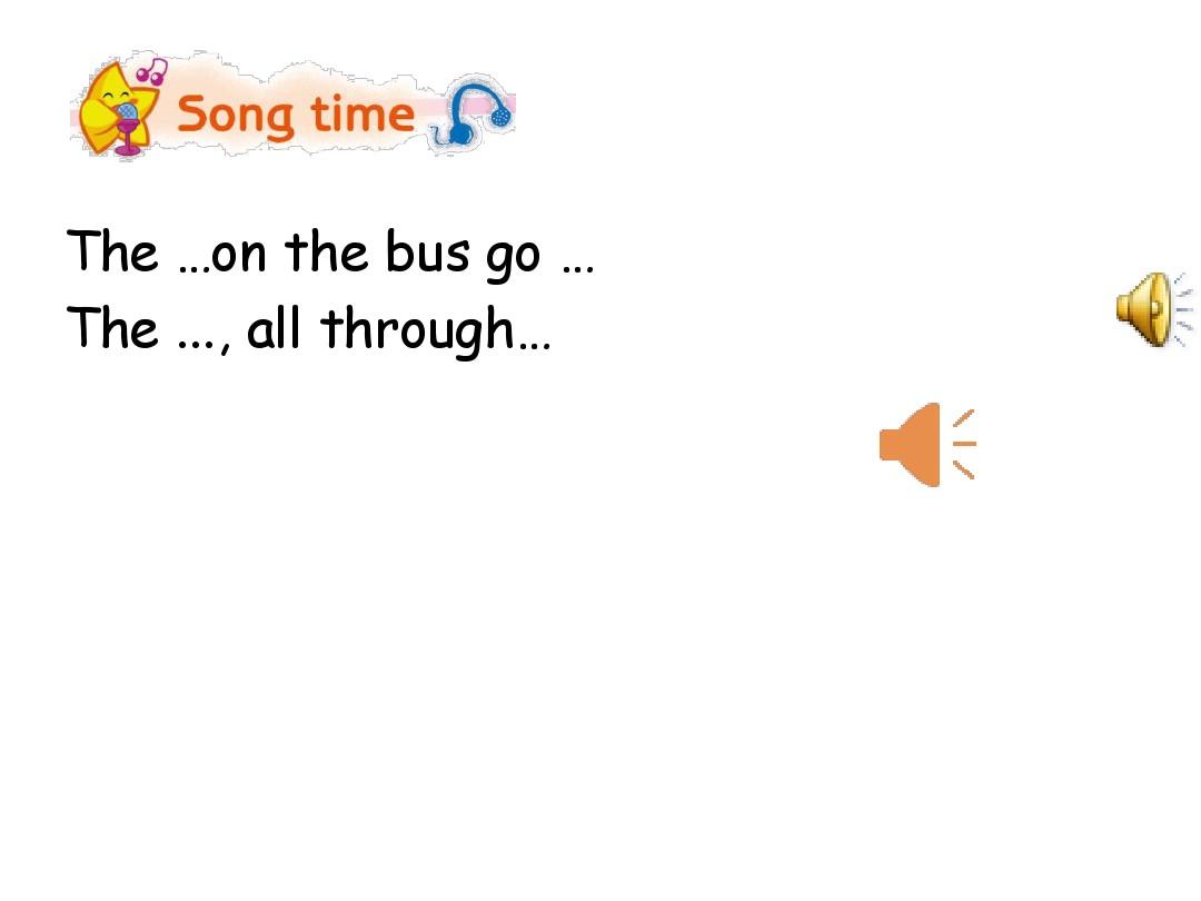 Sound time, Song time & …PPT课件和教学设计实例的第7张ppt图片预览