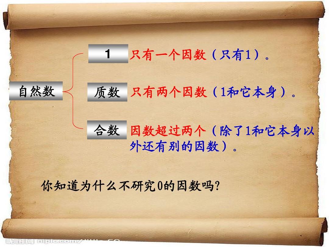 质数和合数PPT课件和名师教学视频(文字实录)的第5张ppt图片预览
