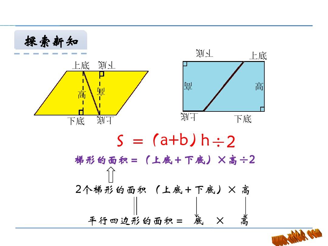 梯形面积PPT课件和教学设计第一课时的第5张ppt图片预览