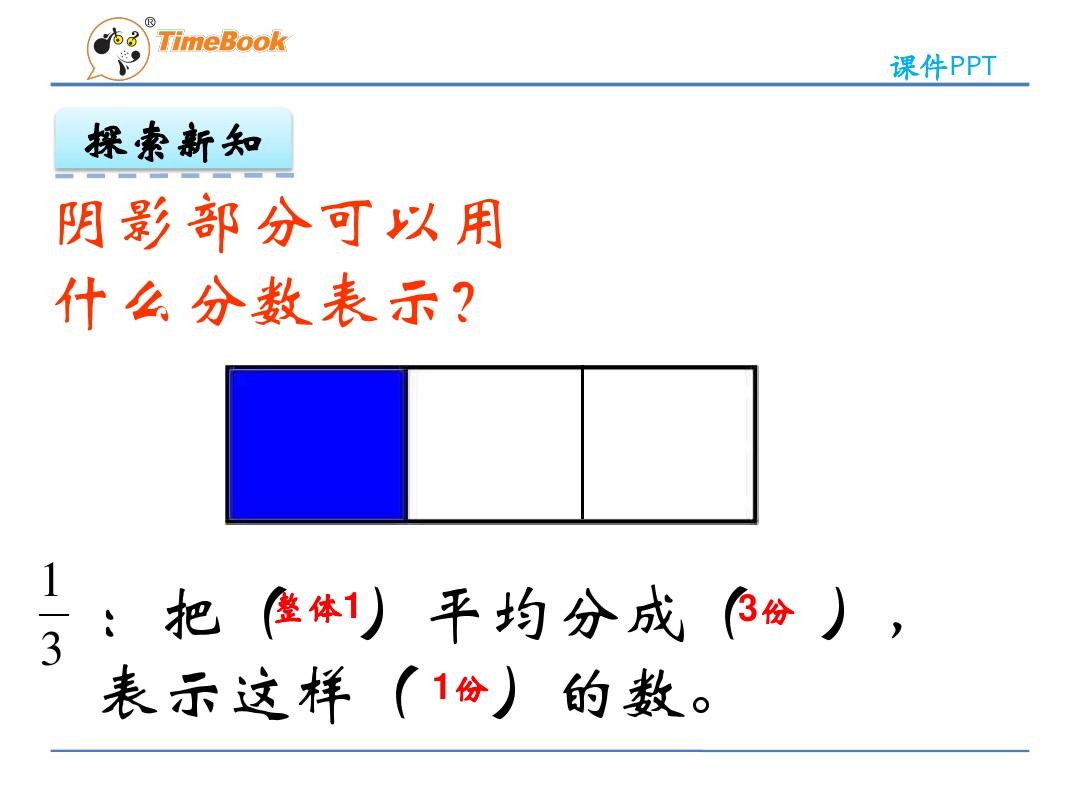 平均分一组物品PPT课件和上教案设计的程序4张ppt图预览