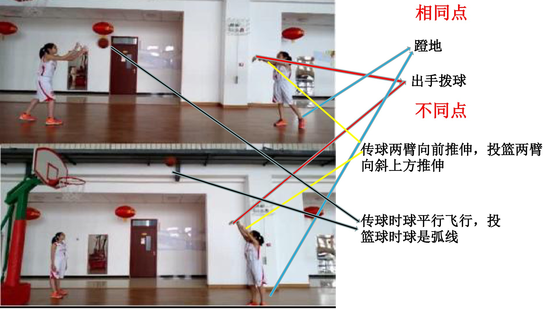 6.投活动篮游戏PPT专用说课稿内容的顺序5张ppt图表预览