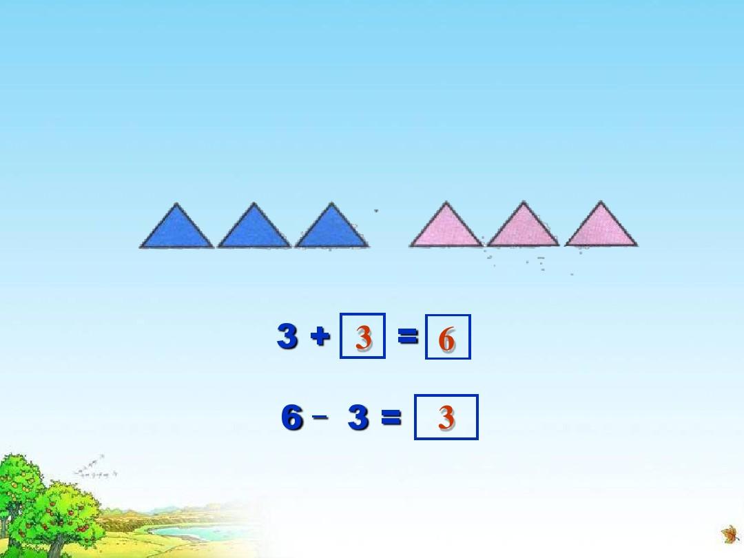 6和7的加减法PPT课件和板书设计及设计说明的第13张ppt图片预览