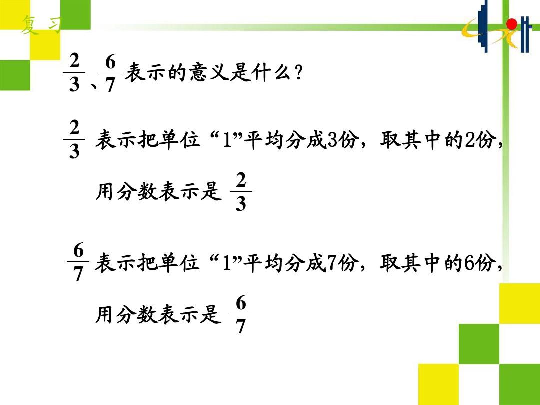 真分数和假分数PPT课件和教学设计的第2张ppt图片预览