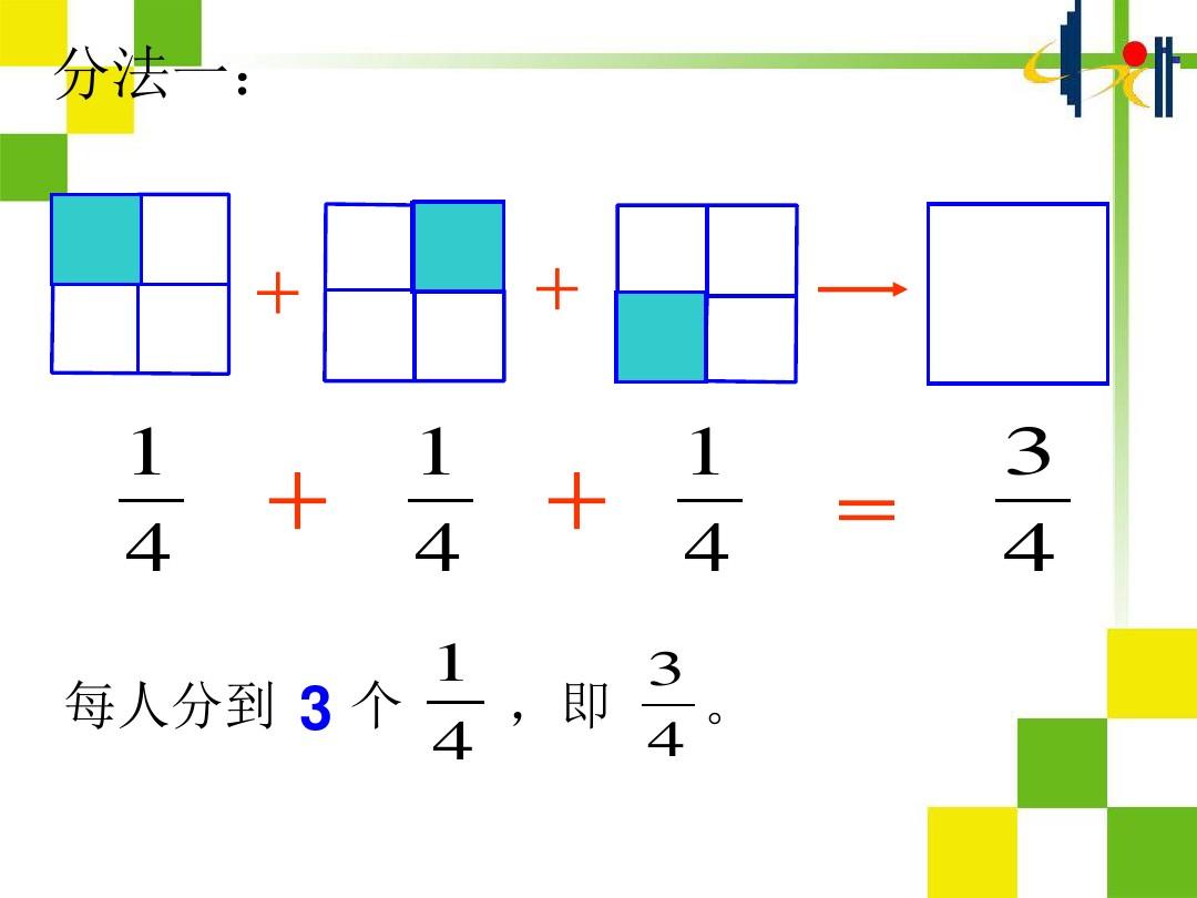 真分数和假分数PPT课件和教学设计的第4张ppt图片预览