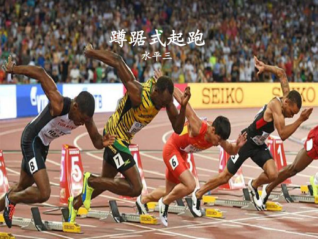 快速跑:蹲踞式起跑PPT课件和板书设计的第2张ppt图片预览
