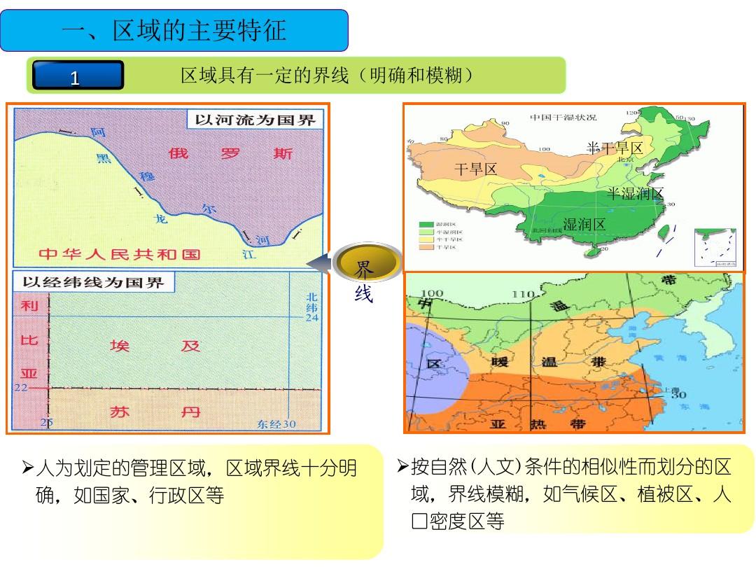 第一节 区域的基本含义PPT课件和第二课时教学设计的第2张ppt图片预览