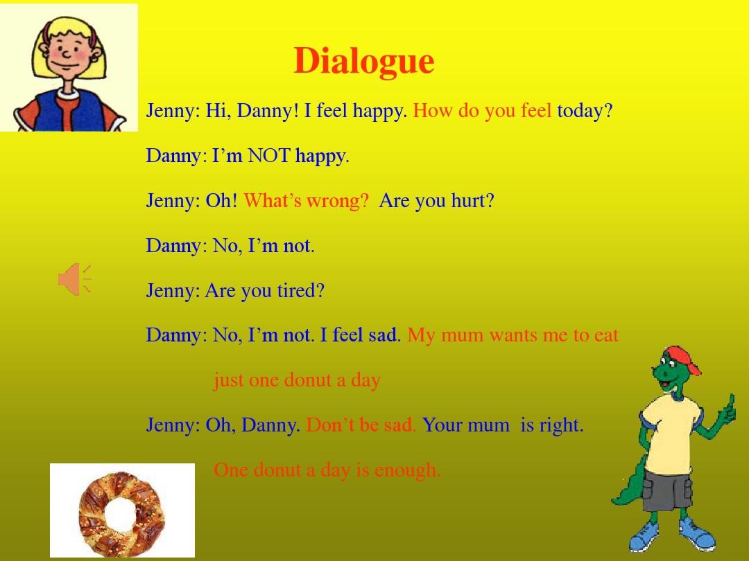 Lesson 16 Happy or SadPPT课件和教案评析的第14张ppt图片预览