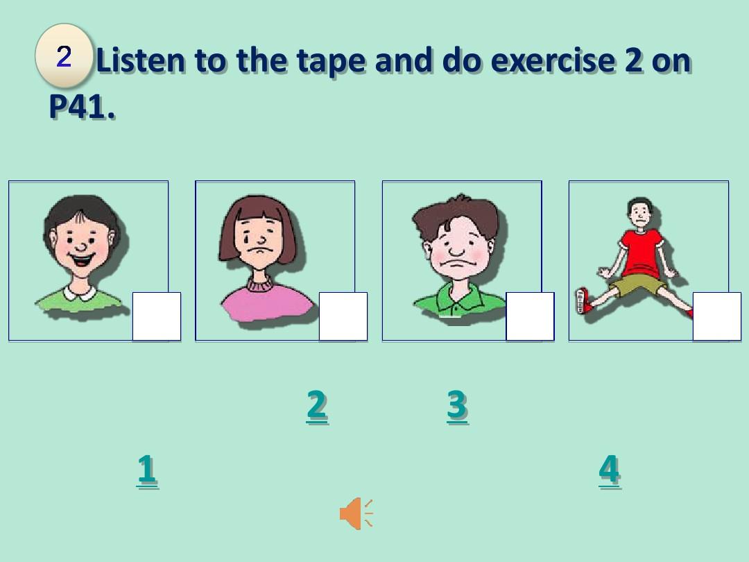 Lesson 16 Happy or SadPPT课件和教案评析的第16张ppt图片预览