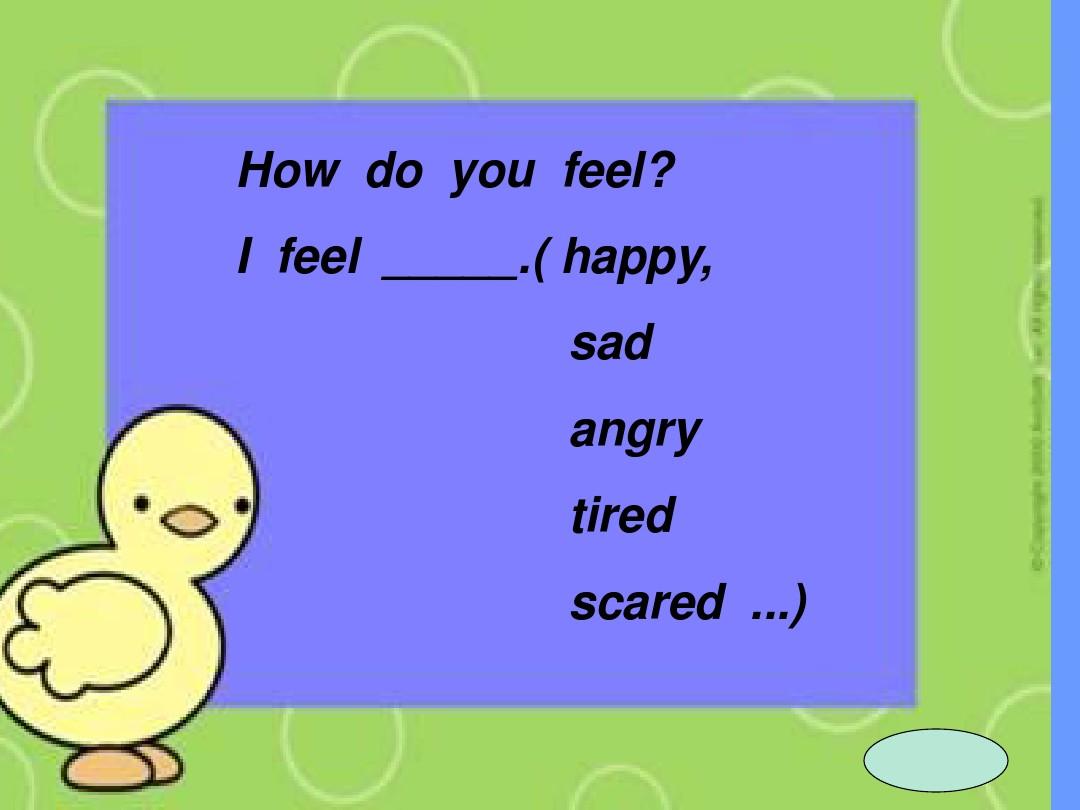 Lesson 16 Happy or SadPPT课件和教案评析的第18张ppt图片预览