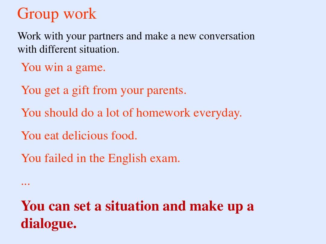 Lesson 16 Happy or SadPPT课件和教案评析的第20张ppt图片预览