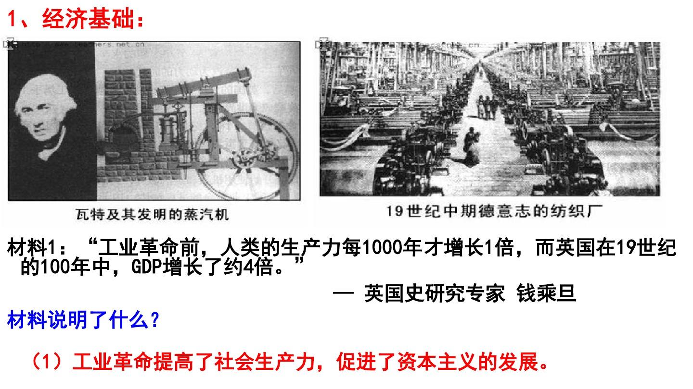 一 马克思主义的诞生PPT课件和第二课时 公开课的第5张ppt图片预览