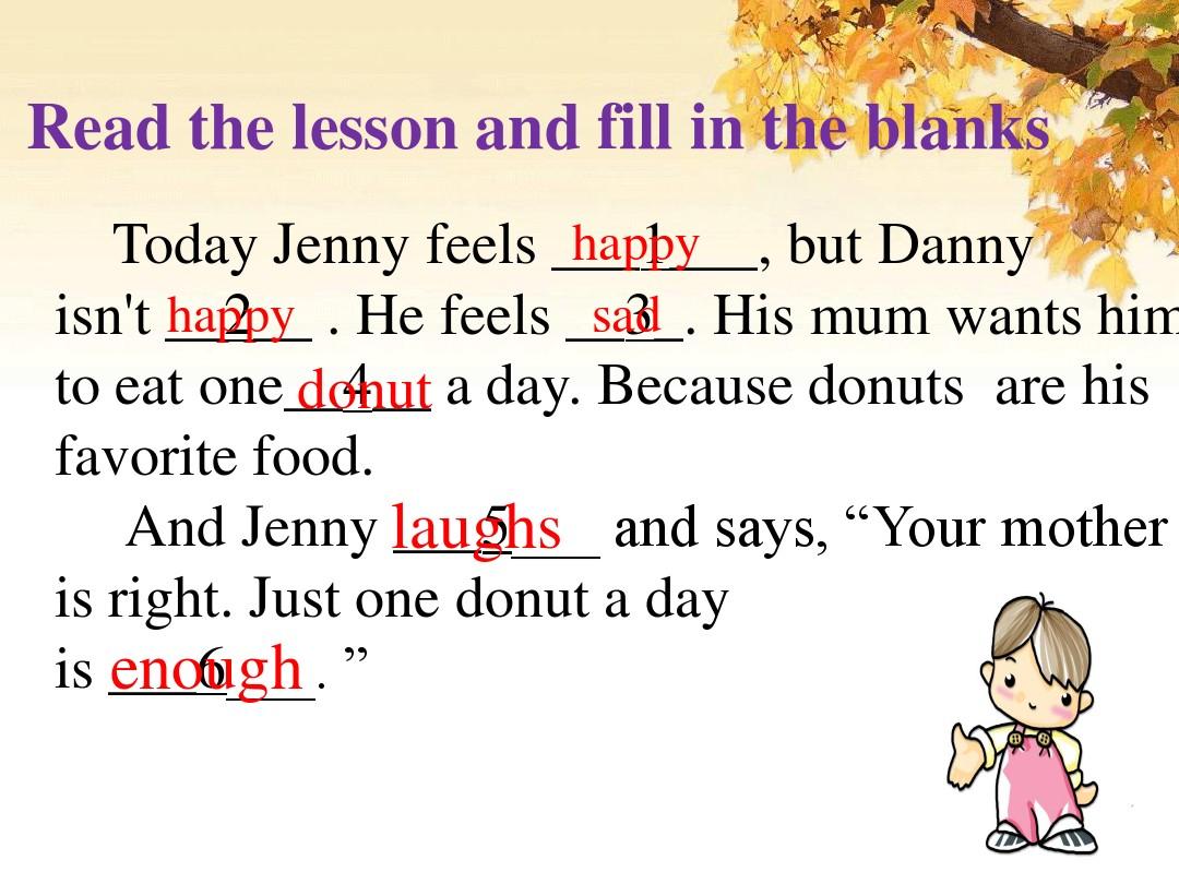 Lesson 16 Happy or SadPPT课件和评课稿的第11张ppt图片预览