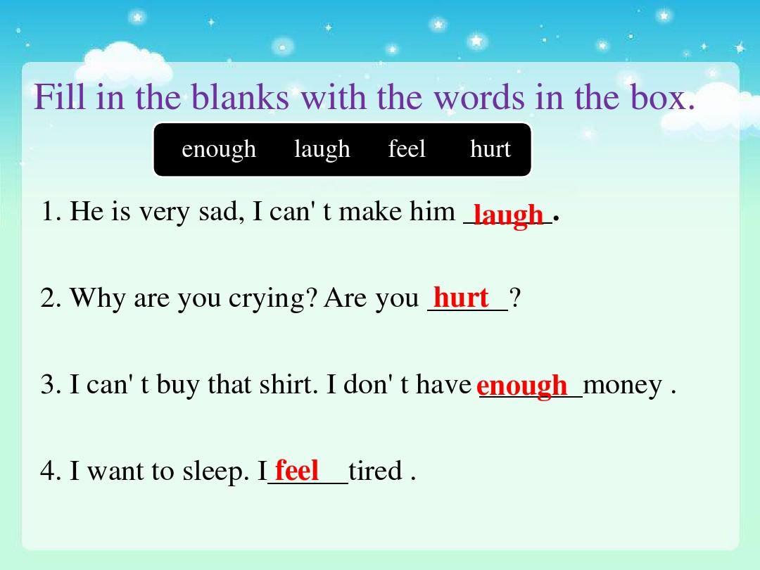 Lesson 16 Happy or SadPPT课件和评课稿的第8张ppt图片预览