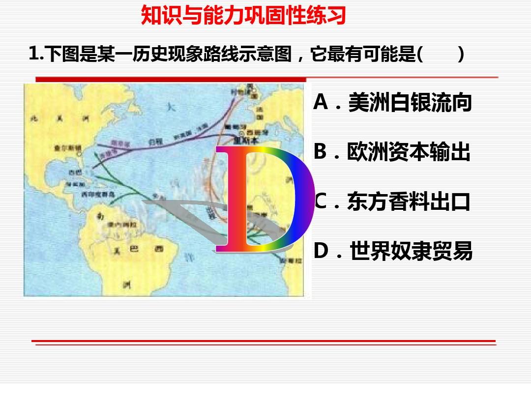 先后15课 殖民扩张与掠夺PPT专用教学计划内容的程序10张ppt图表预览