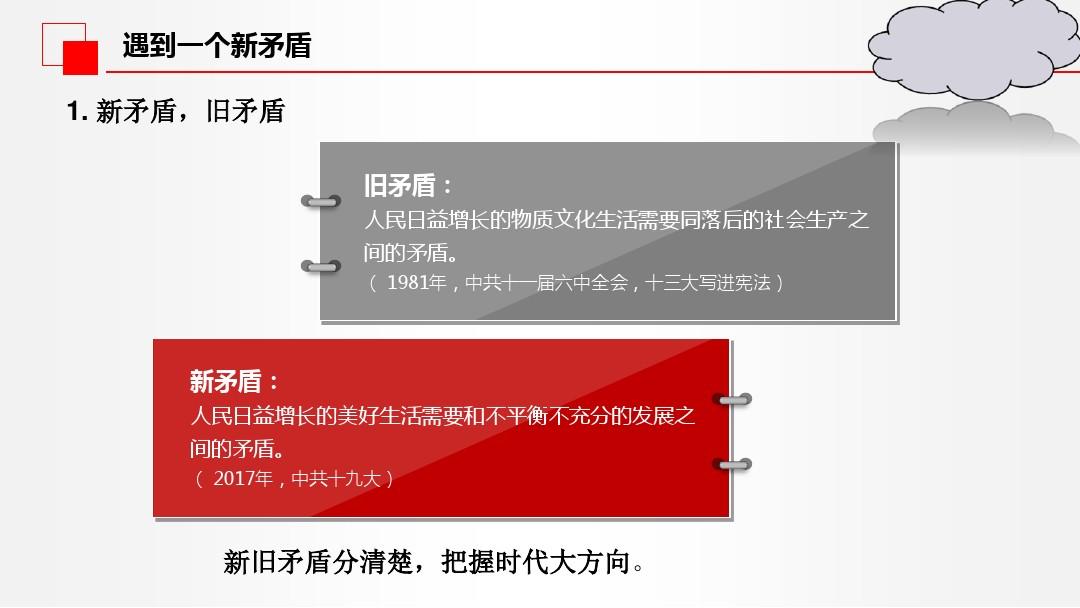 中國經濟發展進入新時代PPT課件配套教案內容的第13張ppt圖片預覽