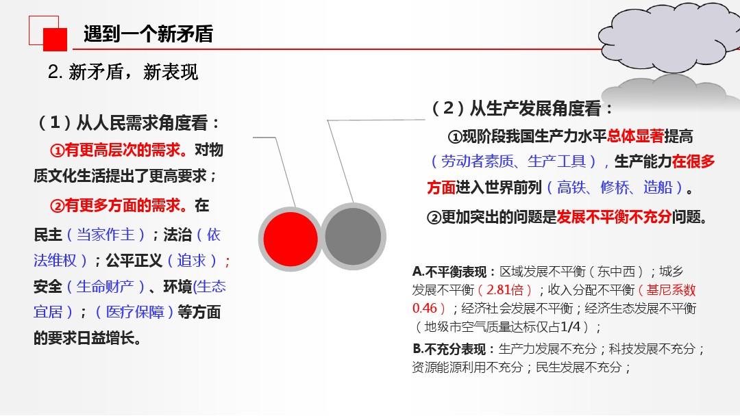中國經濟發展進入新時代PPT課件配套教案內容的第14張ppt圖片預覽