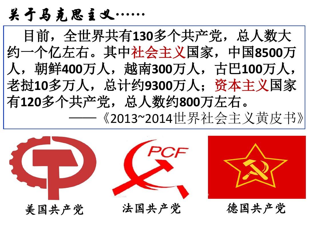 一 马克思主义的诞生PPT课件和教学设计内容推荐的第2张ppt图片预览